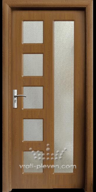 Интериорна HDF врата, модел 048 Златен дъб