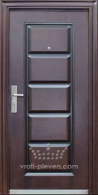 Блиндирана входна врата код 093-G