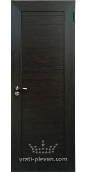 Алуминиева врата за баня, Венге