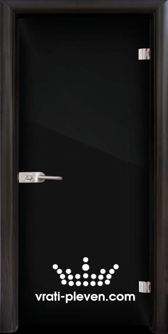 Стъклена интериорна врата модел Folio G 15-2 с каса Венге