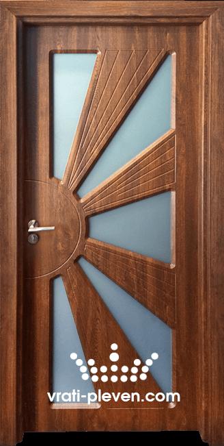 Интериорна врата Гама 204, цвят Златен дъб