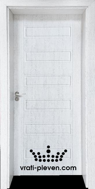 Интериорна врата Гама 207p, цвят Бреза