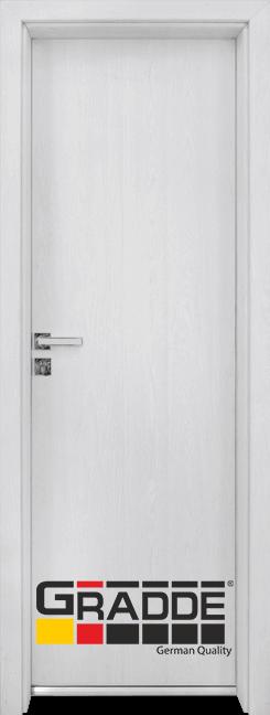 Алуминиева врата за баня – Граде цвят Сибирска Лиственица