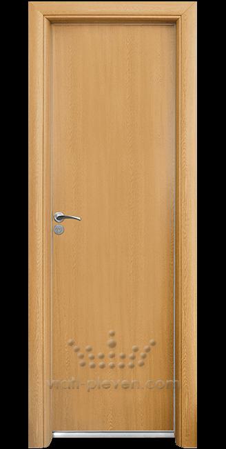 Алуминиева врата за баня – Стандарт, цвят Светъл Дъб