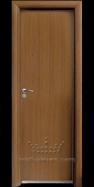 Алуминиева врата за баня – Стандарт, цвят Златен Дъб