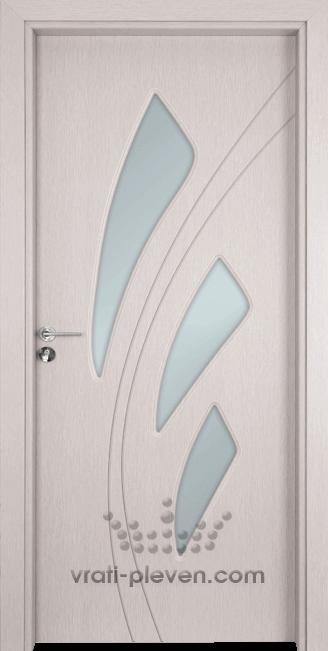 Интериорна врата Гама 202, цвят Перла