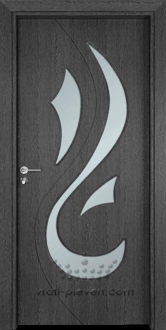 Интериорна врата Гама 203, цвят Сив Кестен