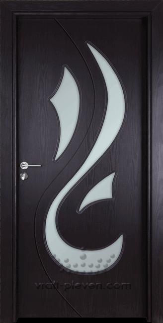 Интериорна врата Гама 203, цвят Венге