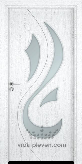 Интериорна врата Гама 203, цвят Бреза