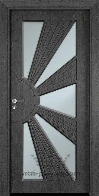 Интериорна врата Гама 204, цвят Сив Кестен