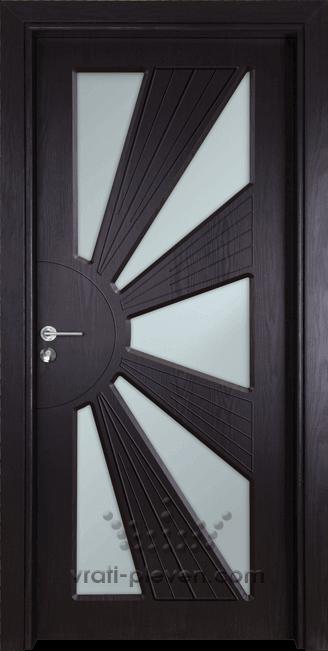 Интериорна врата Гама 204, цвят Венге