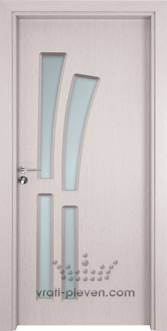Интериорна врата Гама 205, цвят Перла