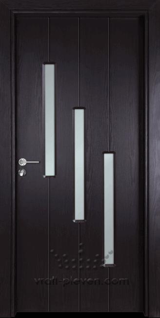 Интериорна врата Гама 206, цвят Венге