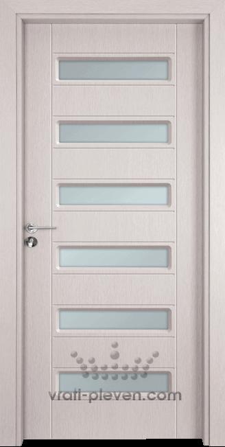 Интериорна врата Гама 207, цвят Перла