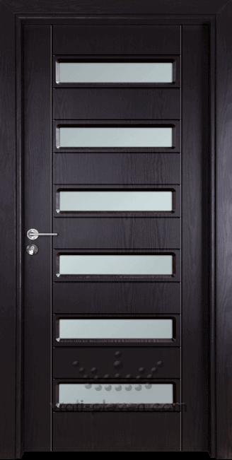 Интериорна врата Гама 207, цвят Венге