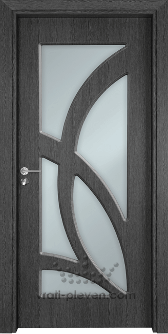 Интериорна врата Гама 208, цвят Сив Кестен