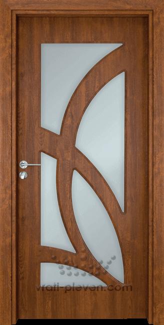 Интериорна врата Гама 208, цвят Златен дъб