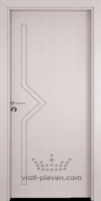 Интериорна врата Гама 201p, цвят Перла