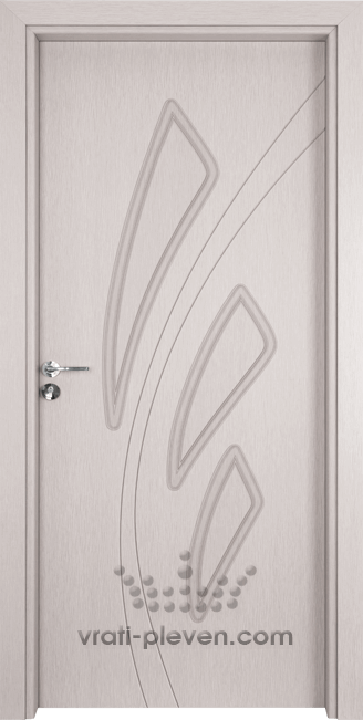 Интериорна врата Гама 202p, цвят Перла