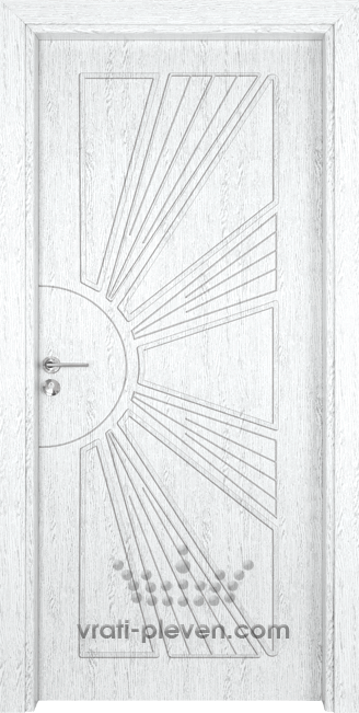 Интериорна врата Гама 204p, цвят Бреза