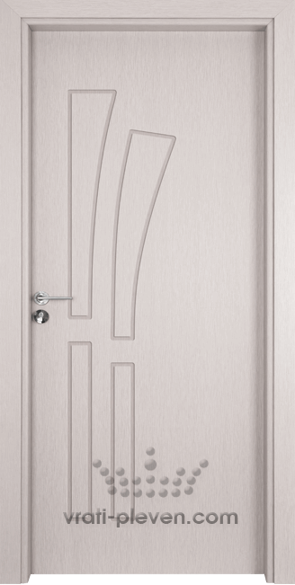 Интериорна врата Гама 205p, цвят Перла