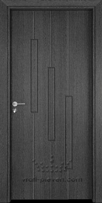 Интериорна врата Гама 206p, цвят Сив Кестен